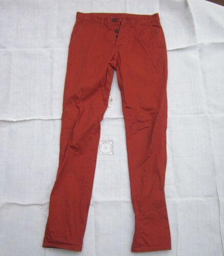 Anti uomo Jeans Co W Denim da 30 Red L32 Fit Rusty IBOqZxw