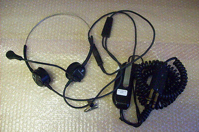 United Sds1006-01 Plantronics Dual Sided Stereo Headphones Computers/tablets & Networking