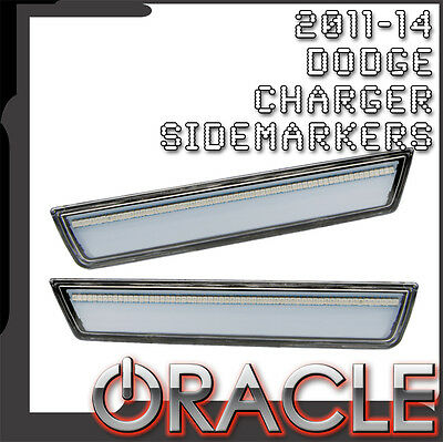 2011-2014 Dodge Charger ORACLE Concept LED Rear Sidemarker Set (Clear)