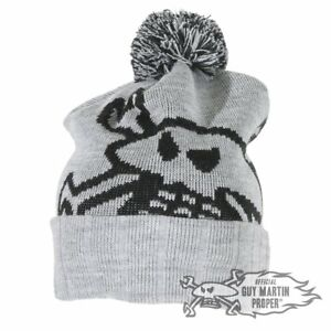Guy-Martin-039-Been-On-The-Pies-039-Head-Gasket-Bobble-Hat-Beanie-PomPom