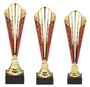 3er-Serie-Pokale-577-Gold-Rot-mit-Hoehe-35-5-32-0-cm-inkl-Gravur-nur-39-95-EUR