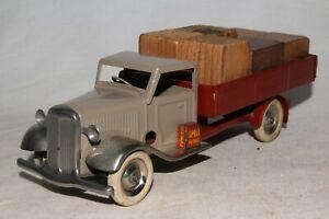 588ms-Tri-Ang-Minic-Entrega-Camion-con-Original-Carga