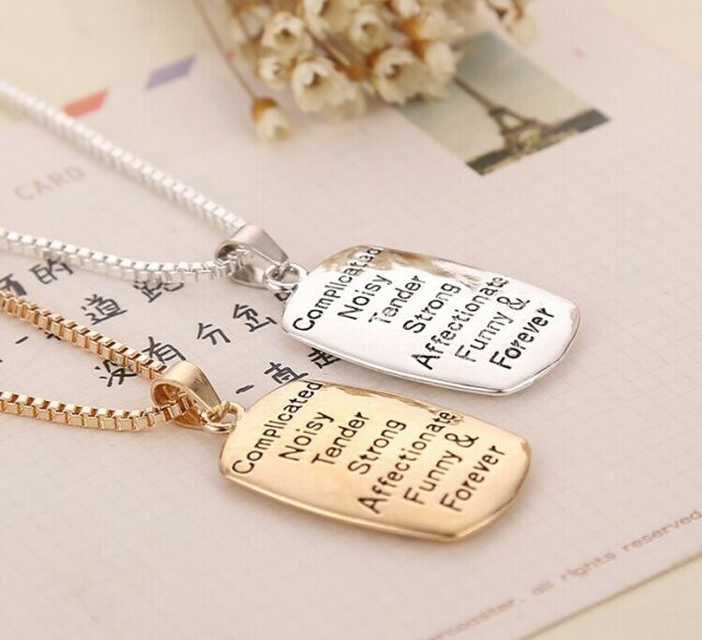 "Hot Sale""The Love between A Mother And Daughter is""Pendant Necklace Mothers Day"