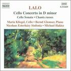 Lalo: Cello Concerto; Sonata; Chants russes (CD, Jun-2000, Naxos (Distributor))