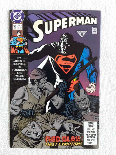 Superman #56 (Jun 1991, DC) VF+