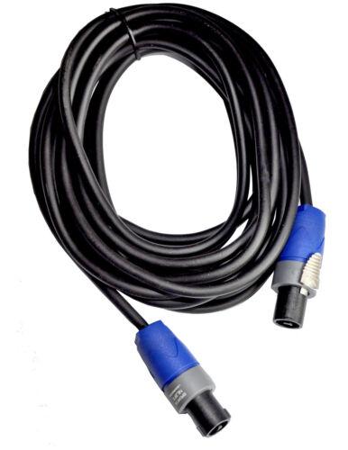 2x2 5 ² mm Speakon Neutrik Connecteur Câble haut-parleur professionnel Câble 5-30 km