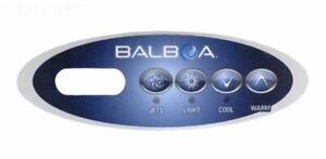 Balboa-WG-VL200-OVERLAY-for-Mini-oval-keypad-4-buttons-Jet-Light-Cool-Warm
