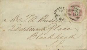 GB-VERY-EARLY-USAGE-OF-POSTAL-STATIONERY-CUT-OUT-18-5-1860-QV-1-d-pink-LONDON-EC