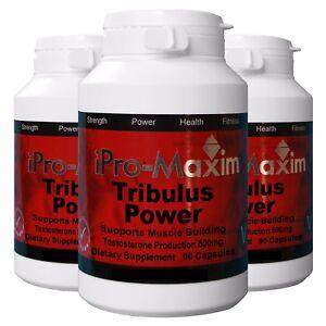 Tribulus-Pro-Extreme-TESTOSTERON-BOOSTER-ANABOLIC-non-Steroid-270-Caps