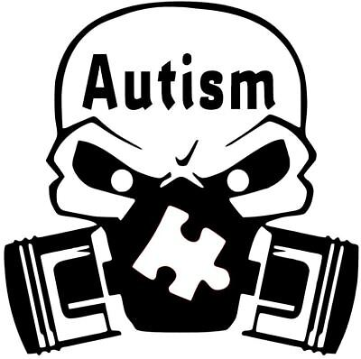 AUTISM WAVE DECAL VINYL STICKER CAR TRUCK AWARENESS SUPPORT 12 COLORS 8 SIZES
