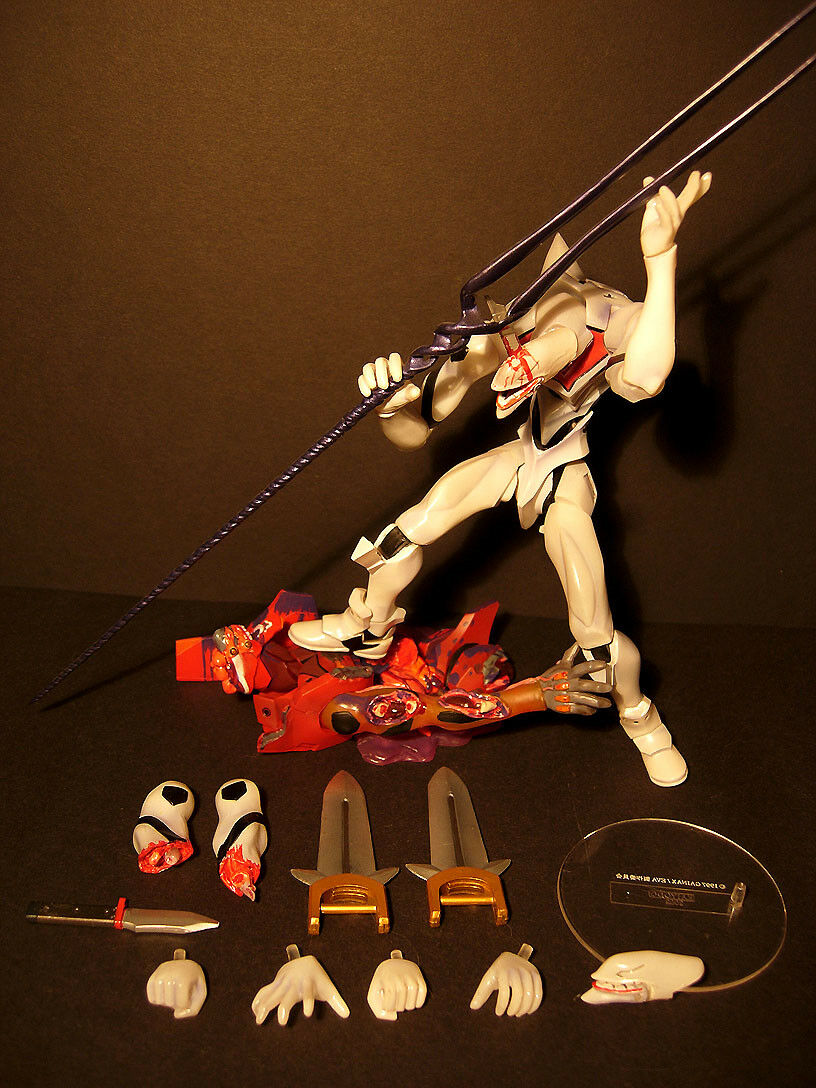 Evangelion EVA Mass Production + SHINOBU MATSUMURA TEST TYPE EVA-01 FOR FREE