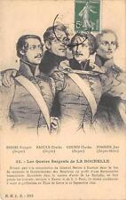 CPA 17 LES QUATRE SERGENTS DE LA ROCHELLE