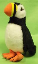 Ark toys premier puffin soft cuddly toy plush wild sea  bird with beans