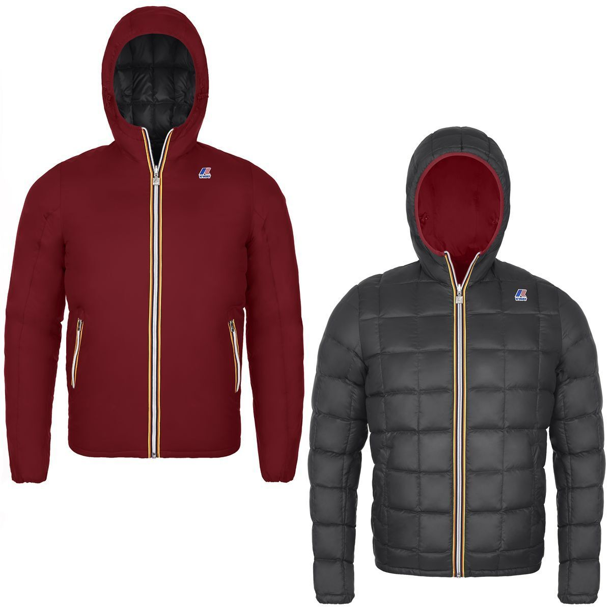 K-WAY Jacques Thermo Plus Double Herren KWAY 2017 rot Scarlet rot K001K40 927