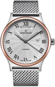 Claude-Bernard-By-Edox-Classics-Men-039-s-Automatic-Watch-83014-357RM-AR1-Swiss