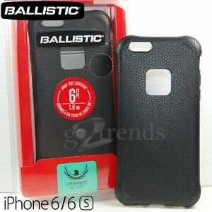 lowest price 8f339 9e538 Details about BALLISTIC Urbanite Select Slim Case for iPhone 6S 6 (4.7)  Buffalo Black Leather