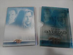 LO-QUE-LA-VERDAD-ESCONDE-DVD-HOLOGRAPHIC-COVER-HARRISON-FORD-PFEIFFER-ZEMECKIS