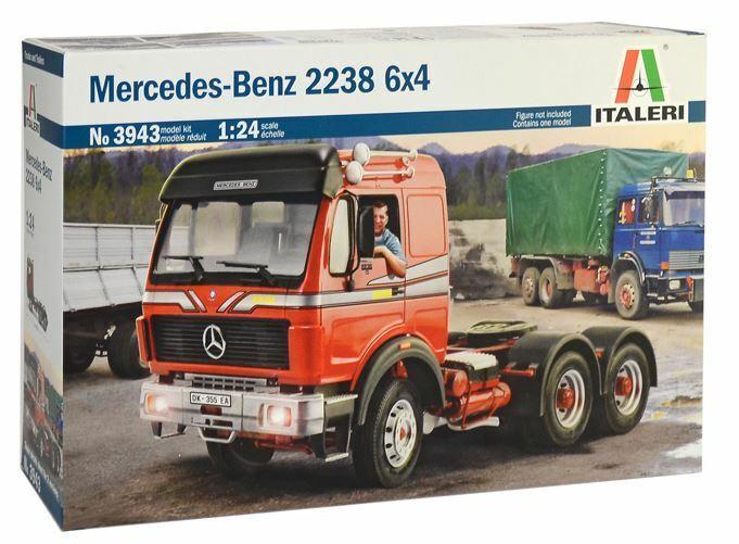Italeri 1 24 Mercedes-Benz 2238 6x4