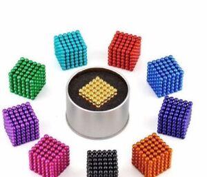 3-5mm-216pcs-Magnete-Magnet-Magic-Cube-Sphere-Neo-Ball-Spielzeug-3D-Neodym-Baelle