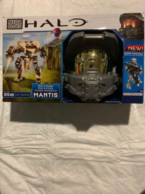 Mega Bloks Halo Micro-Fleet Mantis Invasion Building Kit