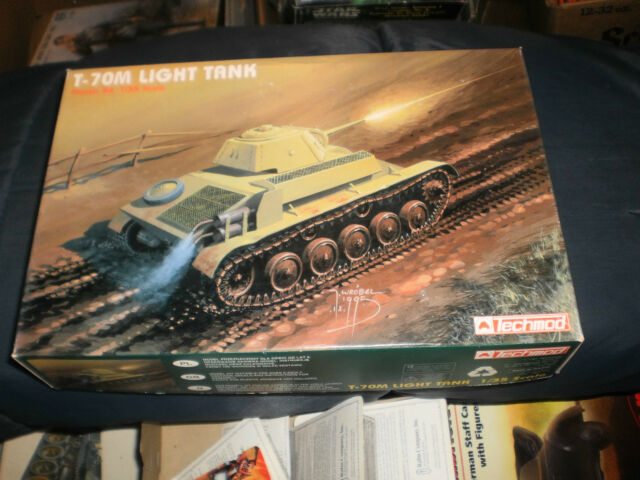 TECHMOD 1/35 T-70M Soviet Light Tank  P/N 3003