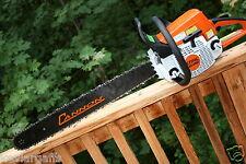 Piltz Conversion Stihl Ms250 Chainsaw Hot Saw Full Chisel 38 Chain 20 Inch Bar