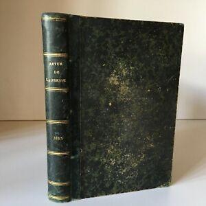 La Revista de Prensa O Recueil Mensual Las Óperas Del Jabón Piezas Novelas 1845