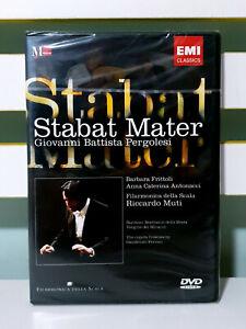 Pergolesi: Stabat Mater, Filarmonica Della Scala DVD -Riccardo Muti (EMI)