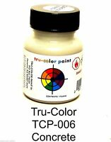Tru-color Tcp-006 Concrete 1 Oz Paint Bottle