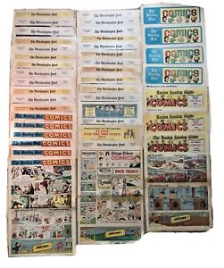 42-Sunday-Color-Comics-Strips-1967-1968-Dick-Tracy-Kerry-Drake-Mandrake-Archie