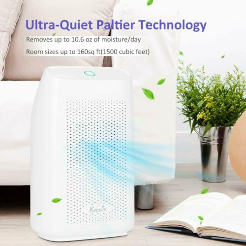 US Humidity/&Moisture Remover Dehumidifier Quiet Electric  for Home Bedroom 700ml