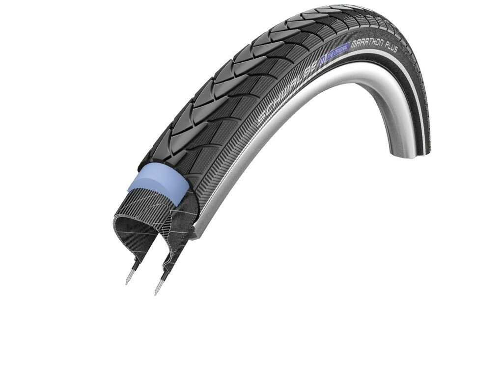 Schwalbe Bike Tyre Marathon plus Evo Wheelchair Rehab all Sizes