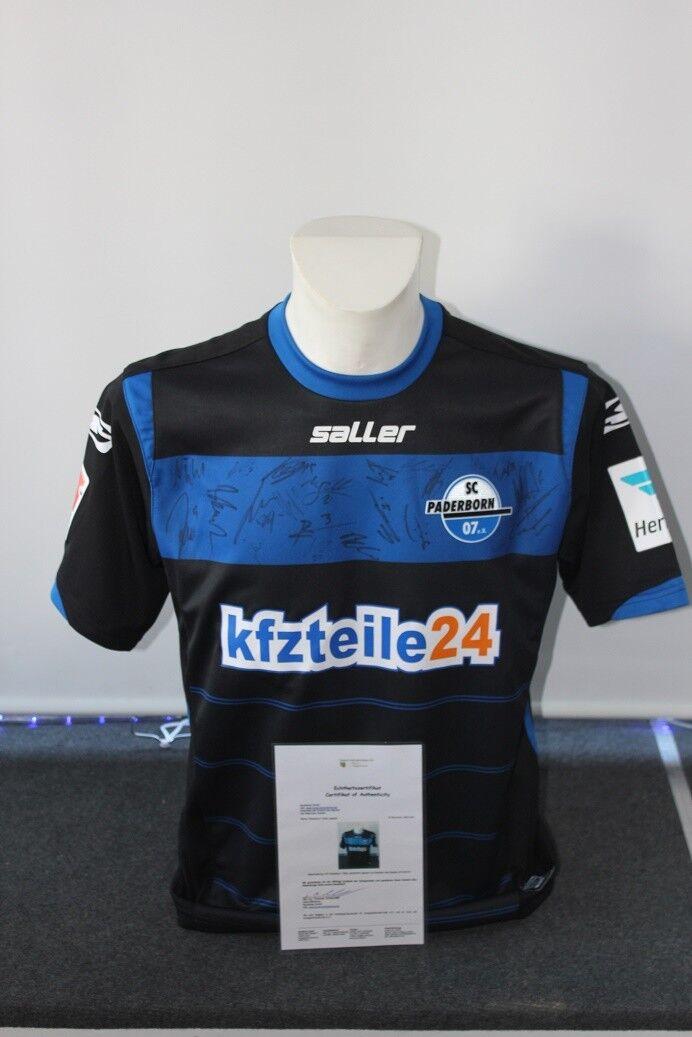 SC Paderborn Trikot 2014 2015, Teamsigniert, M M M d52c33