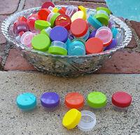 102 Mini Jars 1/4oz .25oz Sample Container Pot Posh Herb Wax 3301 Decojars Usa