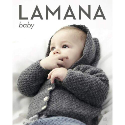 Lamana  Strickmodelle  Anleitungen  Magazin 01  Baby deutsch