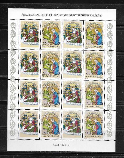 100% De Qualité La Hongrie - 1995-saint Elizabeth Complet Feuille-neuf Sans Charnière