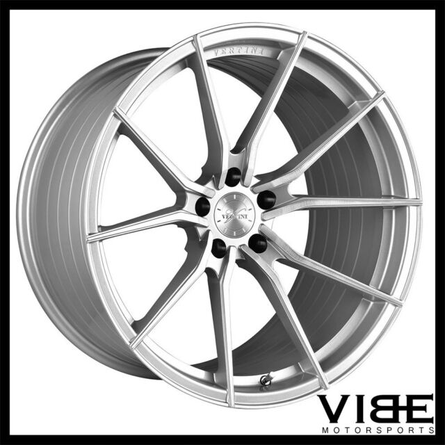 19 Vertini Rf1 2 Silver Forged Concave Wheels Rims Fits Bmw E92 E93
