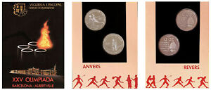 SET-2-x-20-DINERS-CARTERA-2-x-20-DINEROS-Ag-1988-ANDORRA-OLIMPIADA-UNC-SC