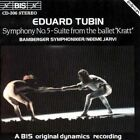 Symphony No. 5 - Suite From Kratt Ballet Eduard Tubin Audio CD
