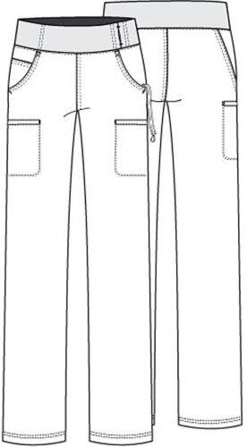 Cherokee Scrubs Mid Rise Straight Leg Tall Pant CK002T TLB Teal Free Shipping
