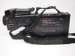 Panasonic Pv 602 Switch Hitter Omnimovie Vhs Camcorder In Hard Case Ebay