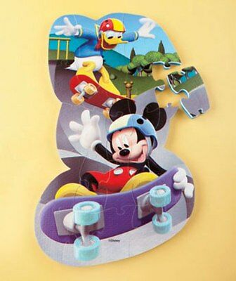 "25 Piece Disney Foam Floor Puzzle-Mickey Mouse & Donald (13x24"") Ages 3+"