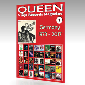 QUEEN-Vinyl-Records-Magazine-No-1-Germany-1973-2017-Full-Color-Guide