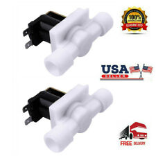 2pcs Dc12v 12 Electric Solenoid Valve Normally Close Ncwater Etc