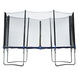 trampolin sicherheitsnetz 305 cm netz 3 05 m f r 8 stangen ersatzteil ersatznetz ebay. Black Bedroom Furniture Sets. Home Design Ideas