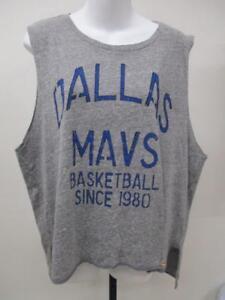 NEW Dallas Mavericks Mens Size S-M-L-XL Gray Muscle Shirt