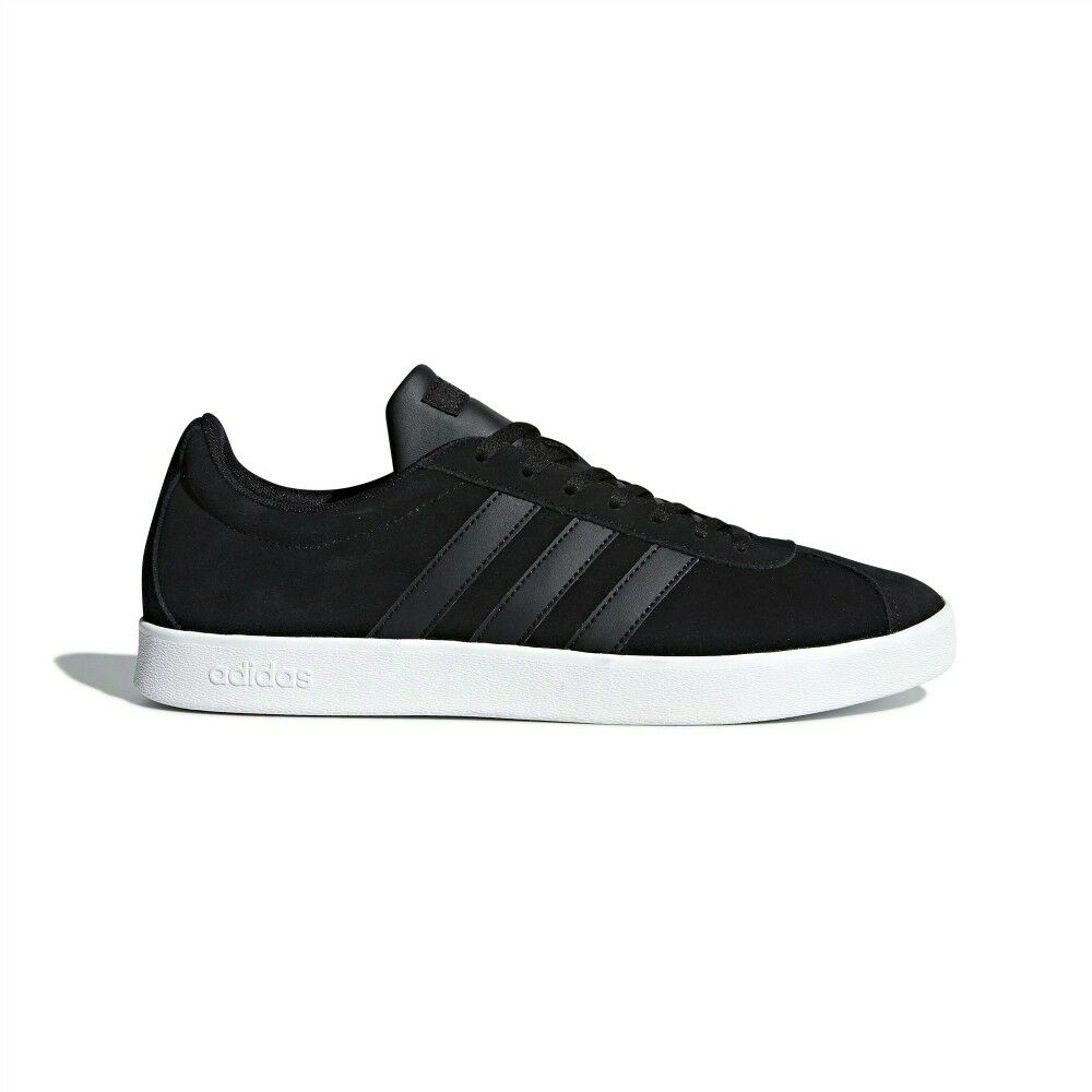 New Adidas Sneakers VL Court 2.0 DA9865 Black Fashion Men Shoes All Comfortable