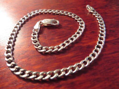 Hübsches 925 Silber Armband Unisex Herren Damen Panzerarmband Plakette Eleganto