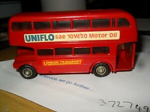 Budgie-Toys-4-2-LONDON-AEC-ROUTEMASTER-64-Seater-BUS-Diecast-Vintage-Red-No-236