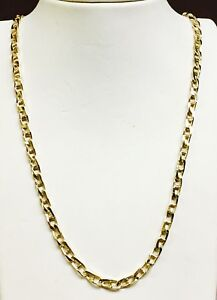 14k-Solid-Yellow-Gold-Anchor-Mariner-chain-necklace-4-MM-38-Grams-30-034